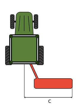 Broyeur Articut GL 125 / GL 145 déplacement C